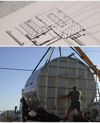 Line Drawings and Tank